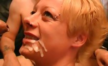 Sexy English amateur babe Fiona can suck cock like no other woman! Watch as she easily gets covered in cum! what a British superslut!