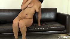 Bethany Benz has a soaking wet gash that needs to be stuffed