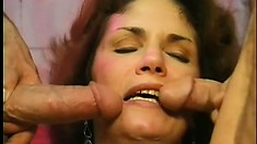 Mature bitch gets banged in a dirty alley by a horny young hobo