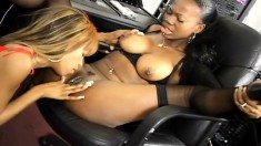Ebony foot fetishists bring their exciting lesbian fantasies to life